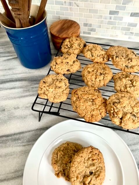 Buttery with the perfect amount of crunch, these hearty cookies have stood the test of time and can be enjoyed in the morning with a cup of tea or as dessert with a glass of milk.