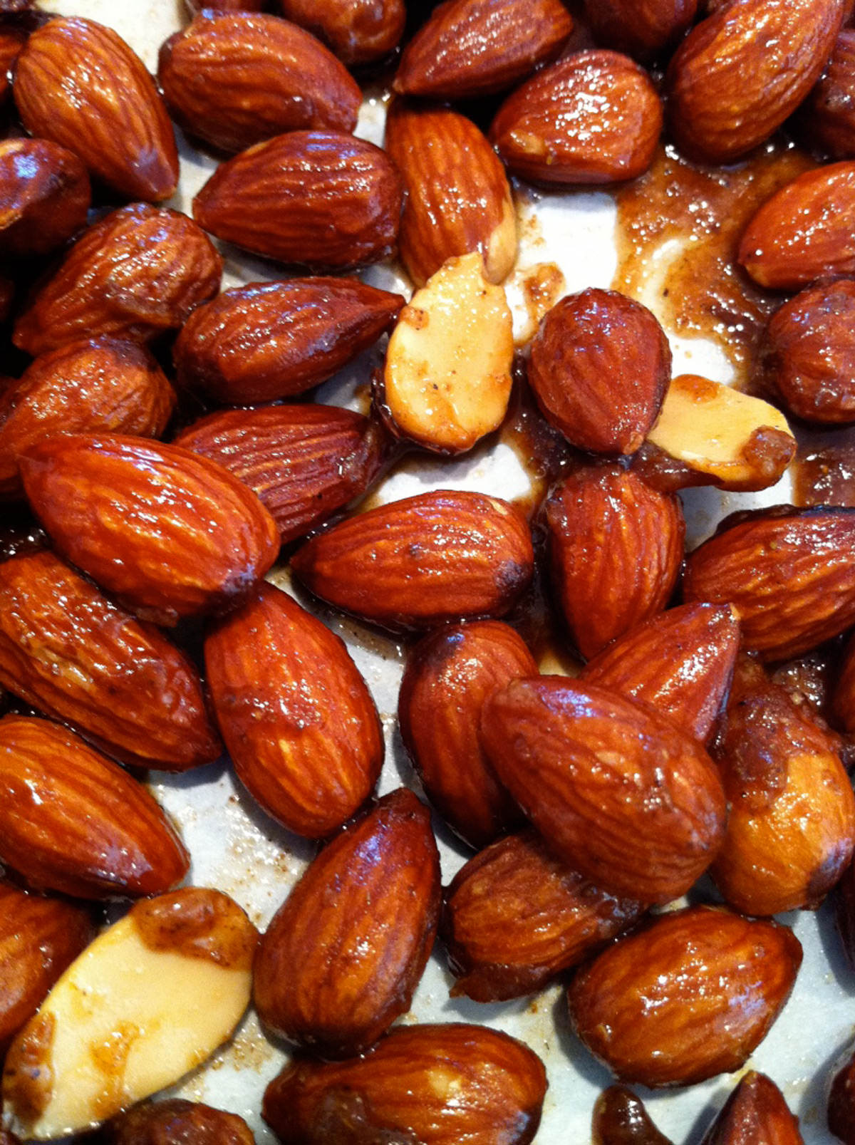 Ginger-Cumin-Almonds