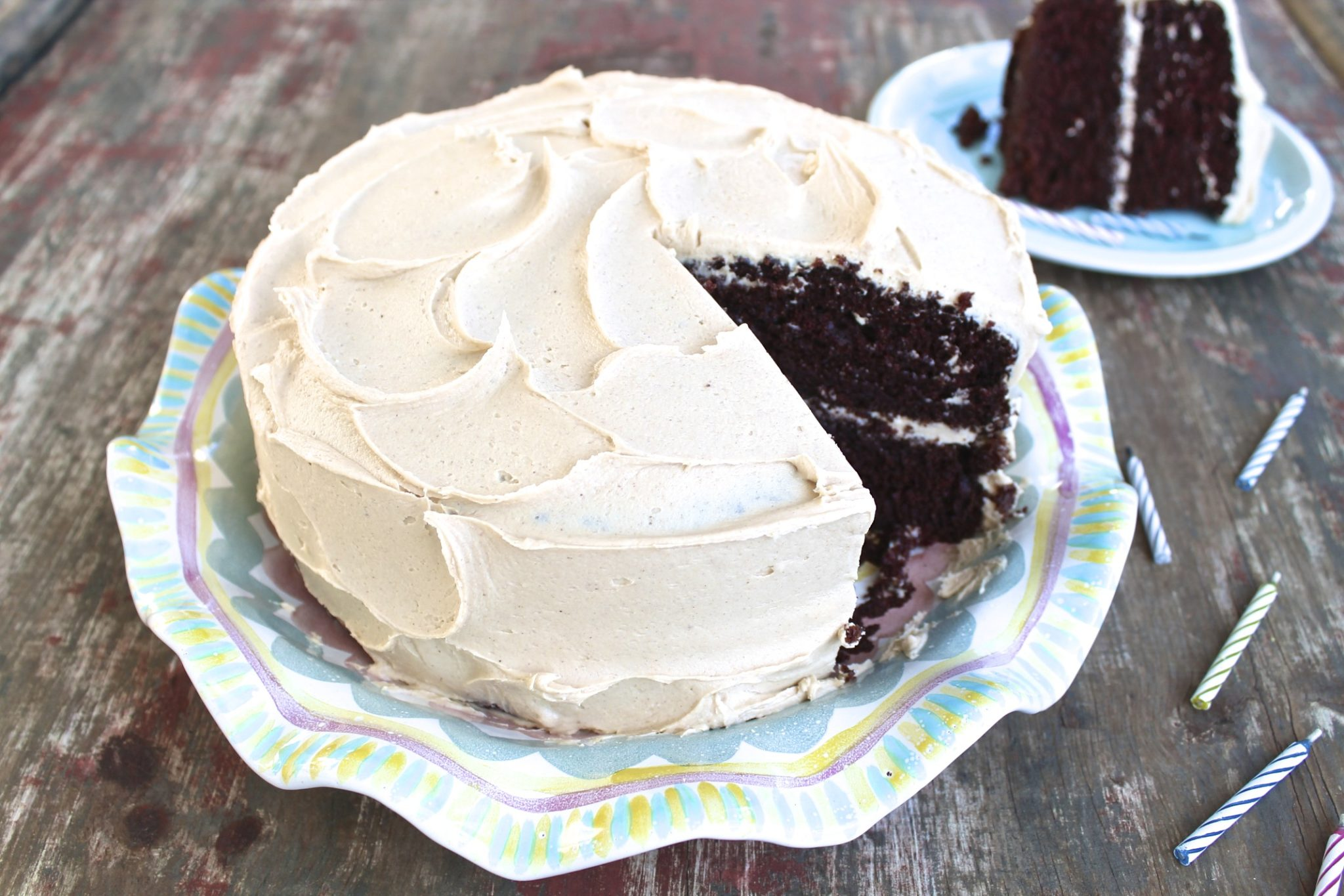 Hershey's Cocoa Cake -- a winning recipe and the gluten-free version is amazing