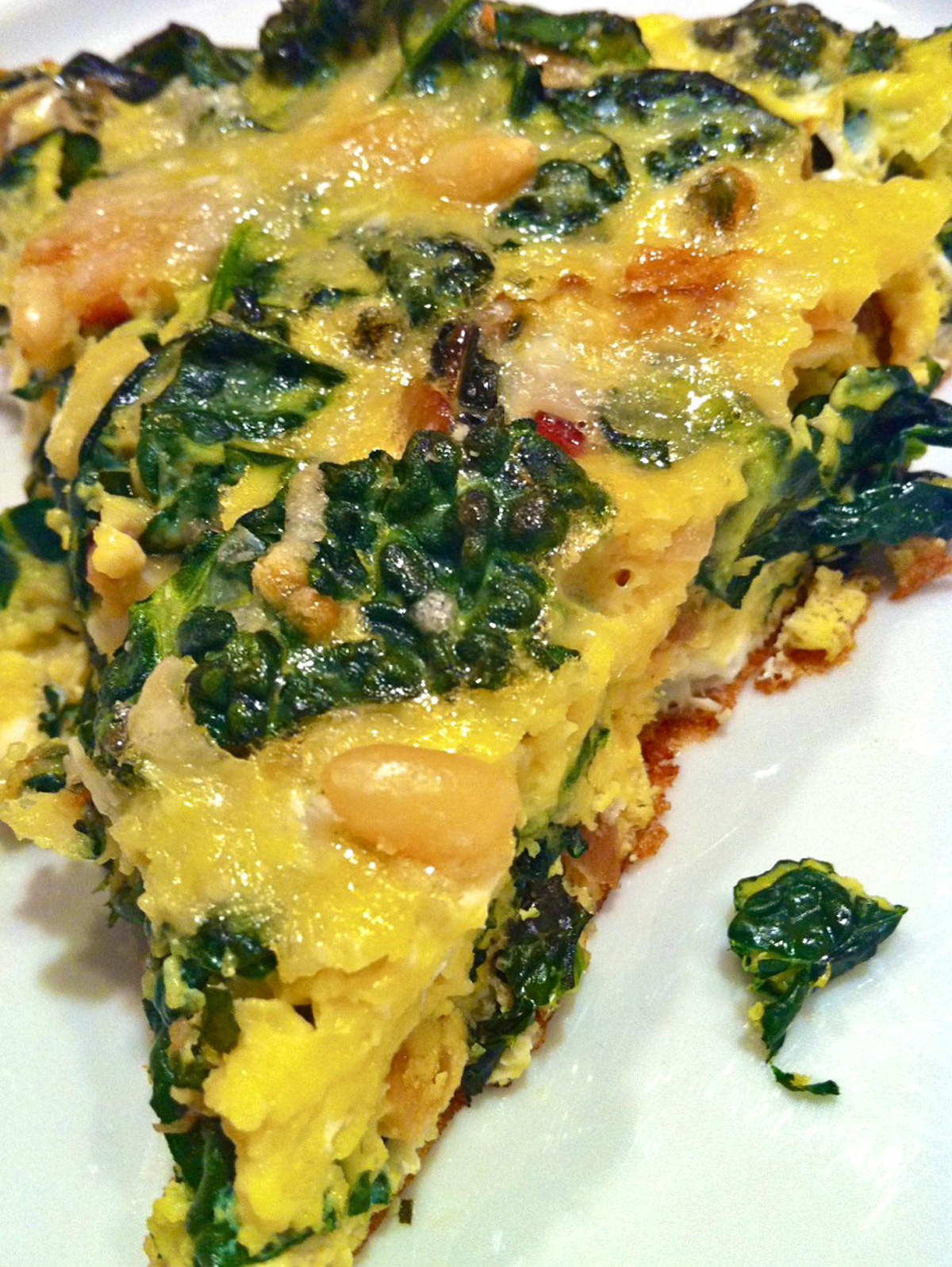 Pancetta, Kale, and Parmesan Frittata The Fountain Avenue Kitchen