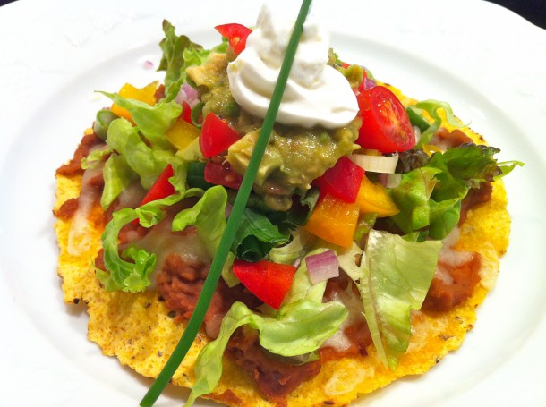 Mexican Pizza from Fountain Avenue Kitchen