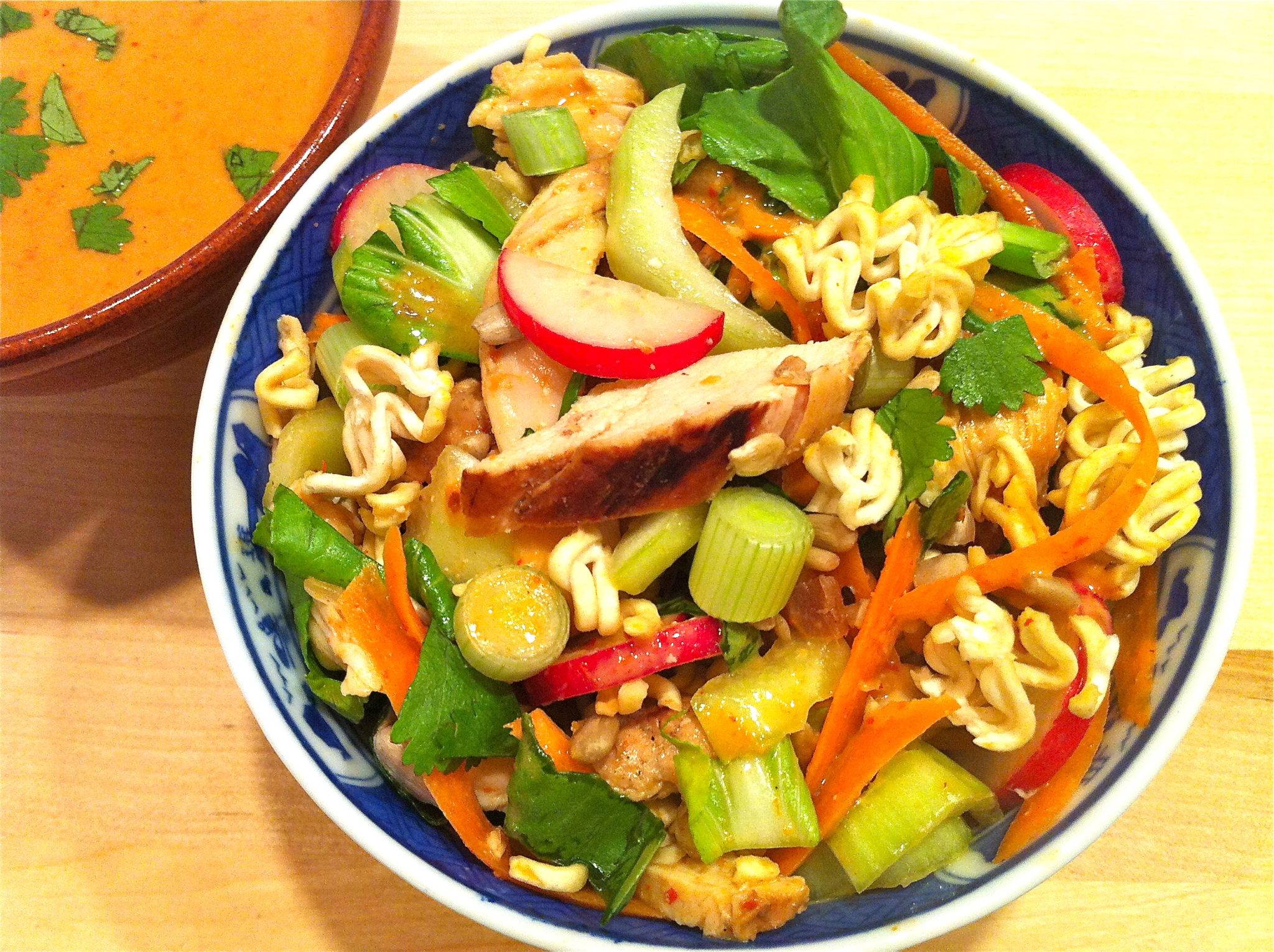 Thai Bok Choy Salad with Ginger Peanut Sauce – The ...