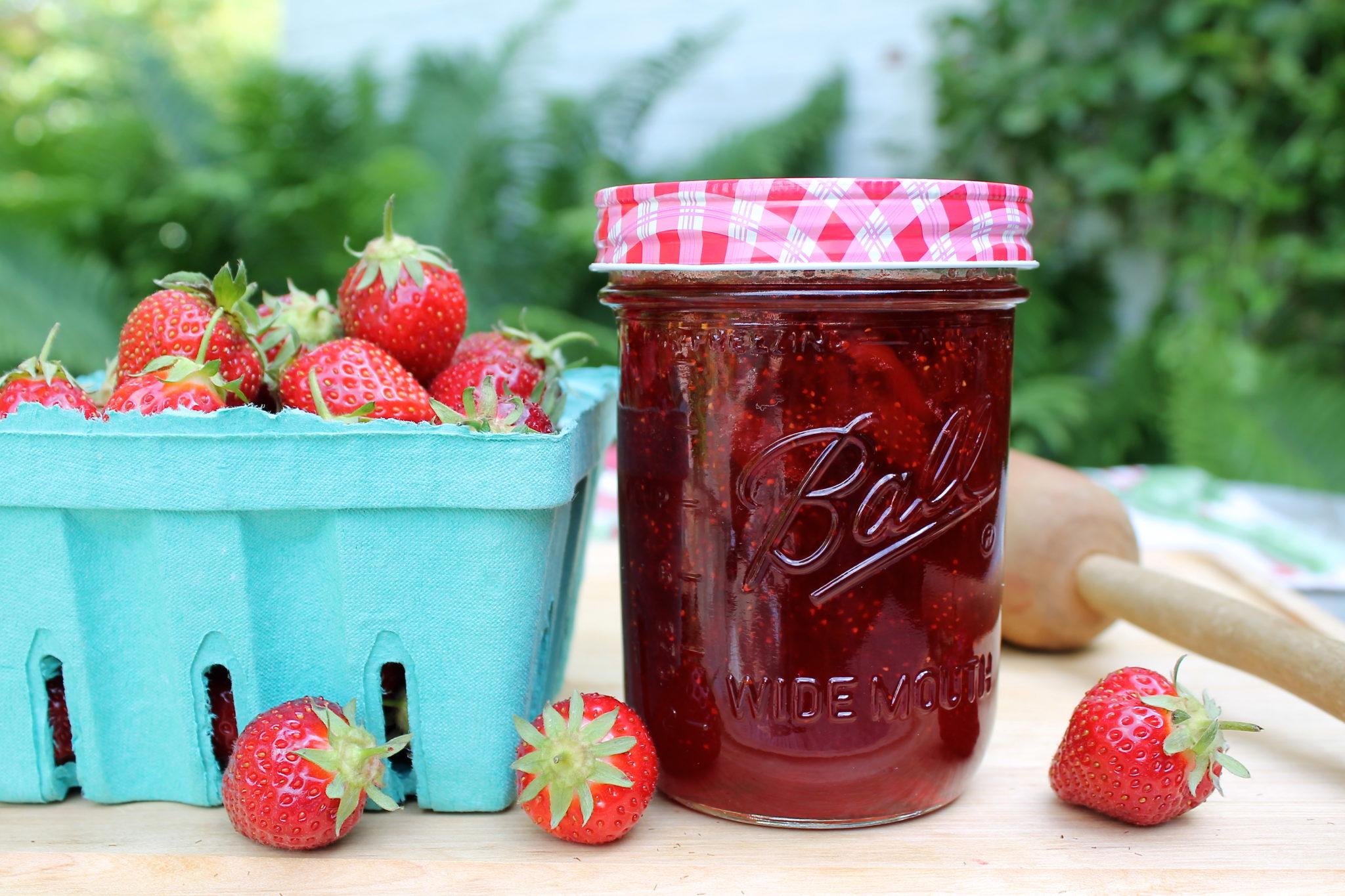 Classic Strawberry Jam — The Fountain Avenue Kitchen