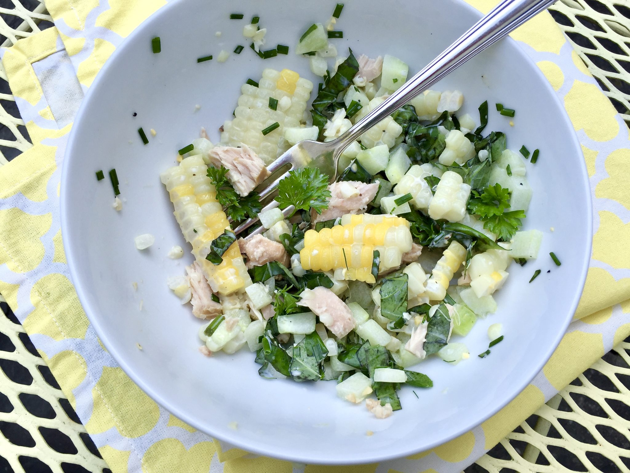 Quite possibly the easiest summer salad with the biggest reward, this fresh-tasting bowl comes together in minutes and is sure to become a crowd favorite!