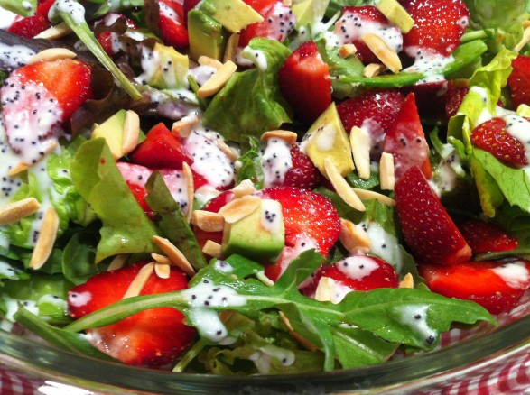"... Comments on ""Strawberry Salad with Creamy Poppy Seed Yogurt Dressing"