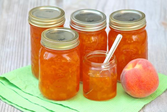 Classic Peach Jam