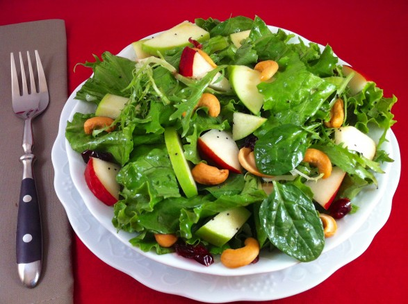 ... Fountain Avenue Kitchen – Fall Salad with Lemon Poppy Seed Dressing