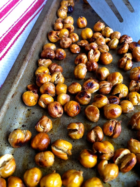 ... for roasting garbanzo beans a couple of my friends mentioned that a