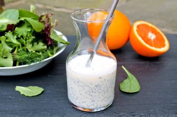 Turkey Cobb Salad with Honey Orange Poppy Seed Dressing — The ...