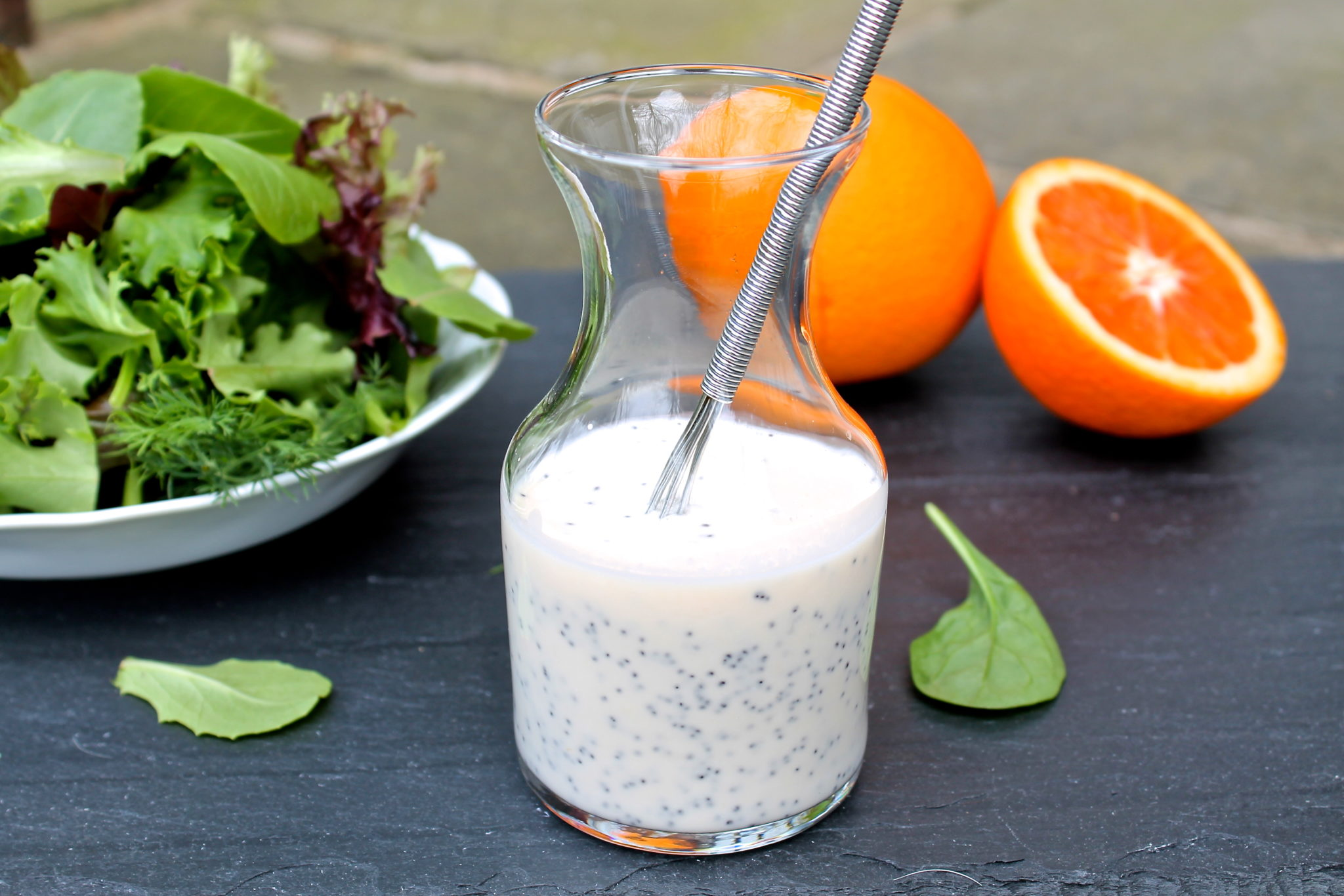 Honey Orange Poppy Seed Dressing — The Fountain Avenue Kitchen