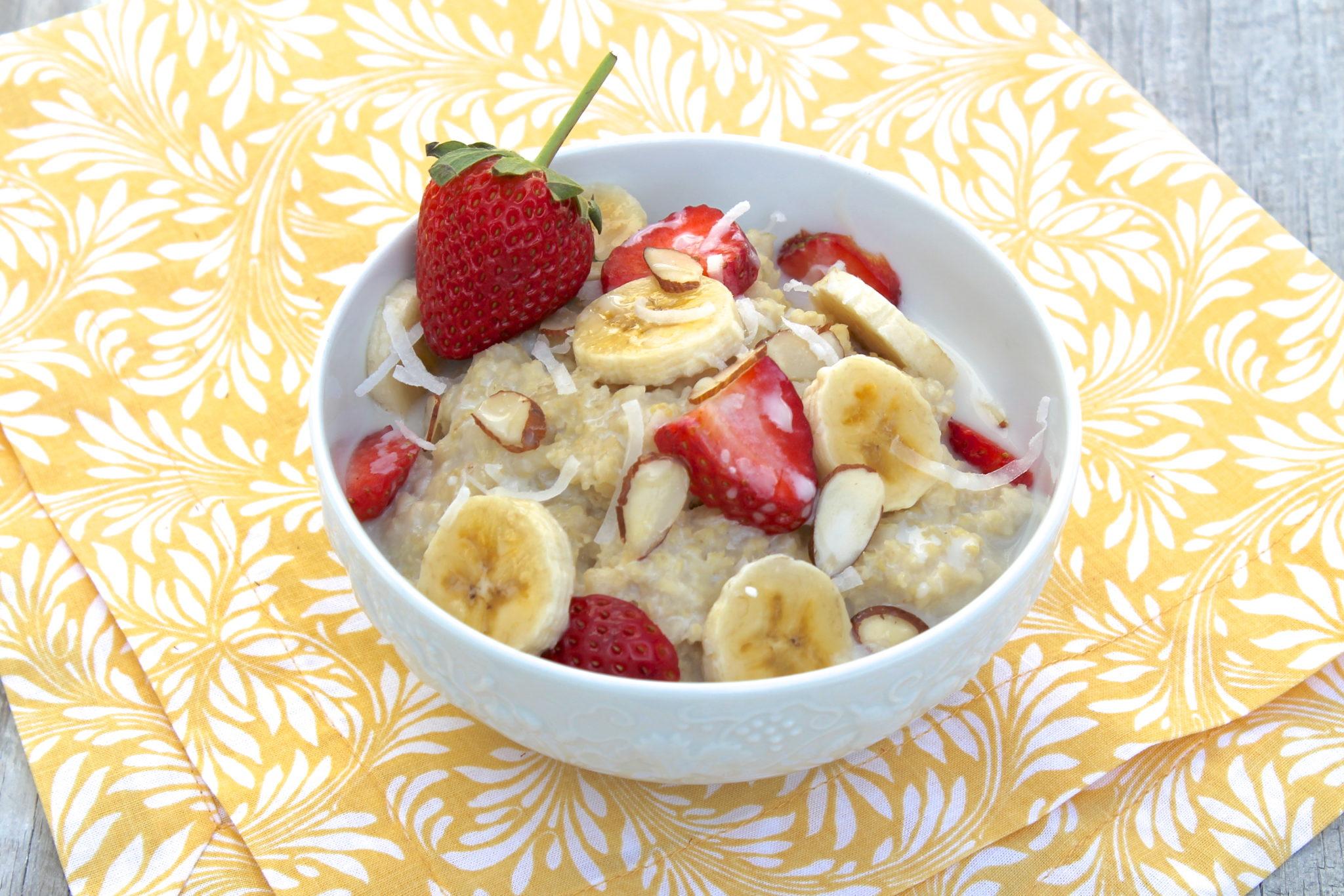 Millet Breakfast Porridge The Fountain Avenue Kitchen
