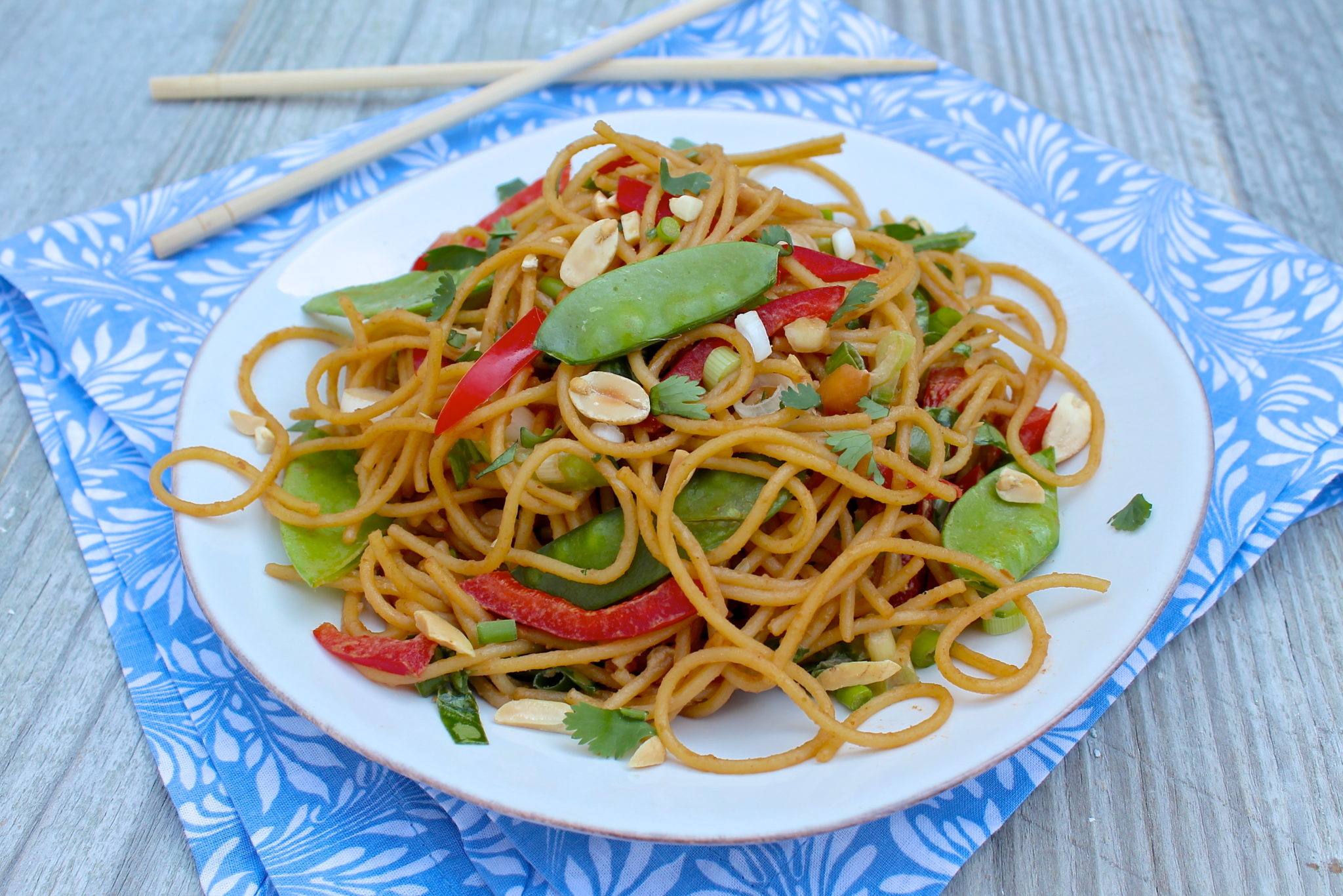 The Fountain Avenue Kitchen – Sesame Peanut Noodles