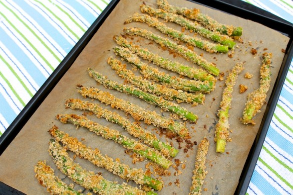 Roasted Asparagus with Panko (with a delicious gluten-free option)