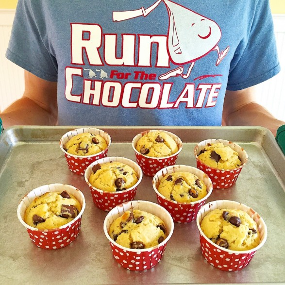 Chocolate Chip Muffins -- so easy and so good!