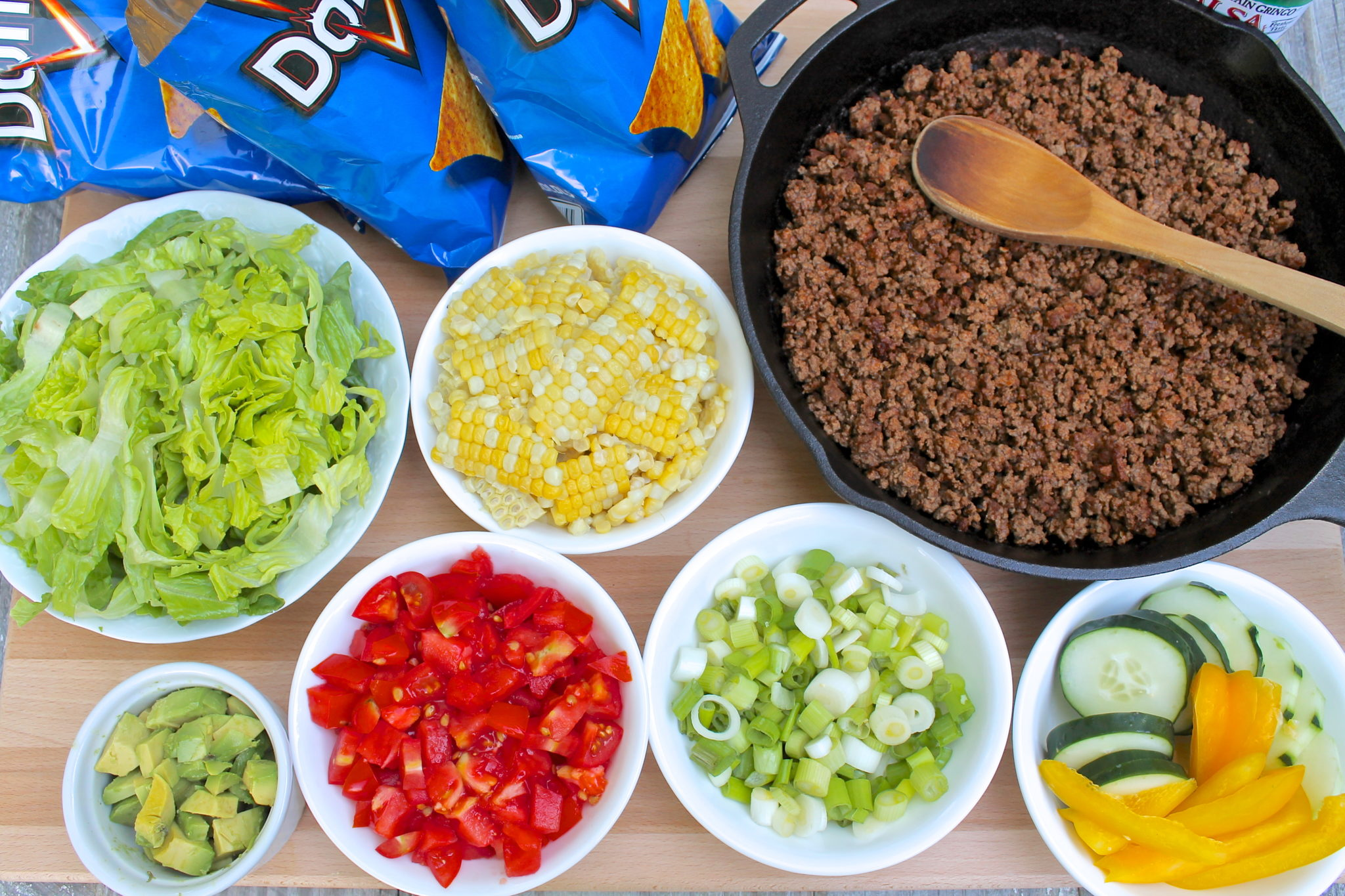 how to eat a taco without spilling