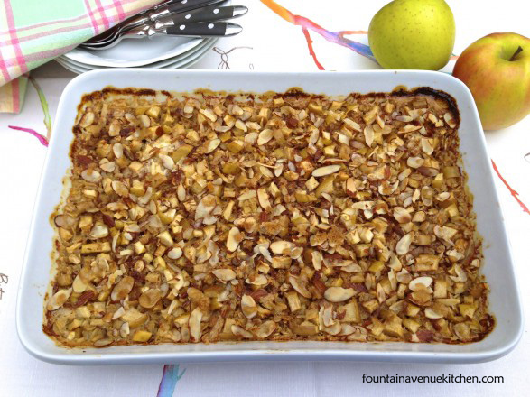 The Fountain Avenue Kitchen – Apple Crisp Baked Oatmeal