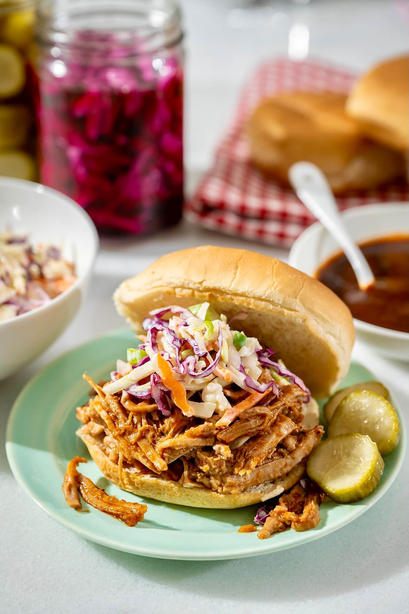 This easy-to-make recipe can be adjusted to any number of diners and offers a leaner spin on what has long been a crowd favorite. With options for homemade or store-bought BBQ sauce!