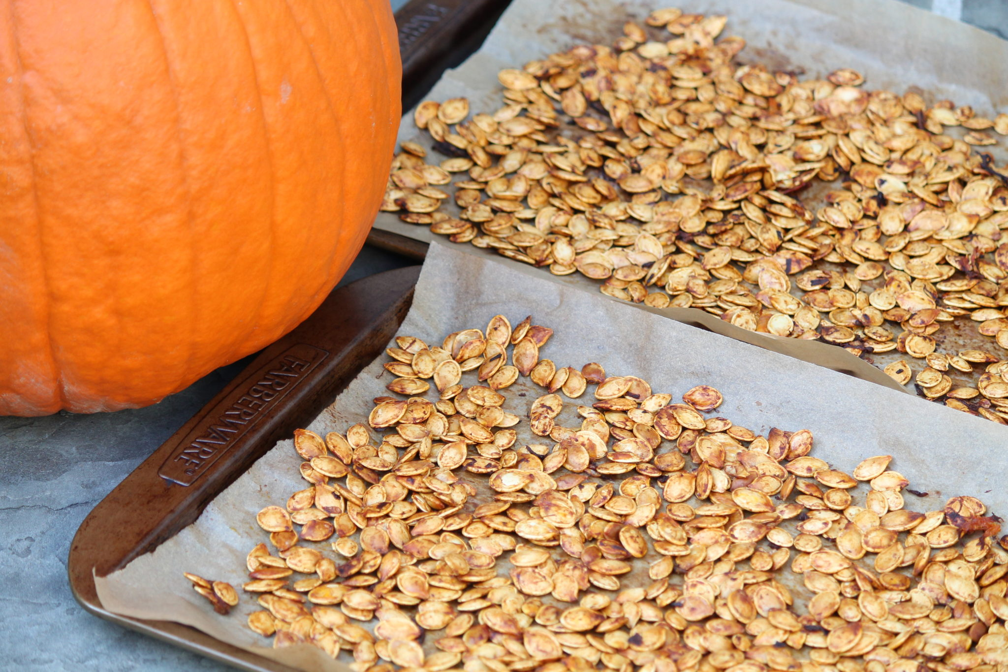 Watch How to Roast Pumpkin Seeds video