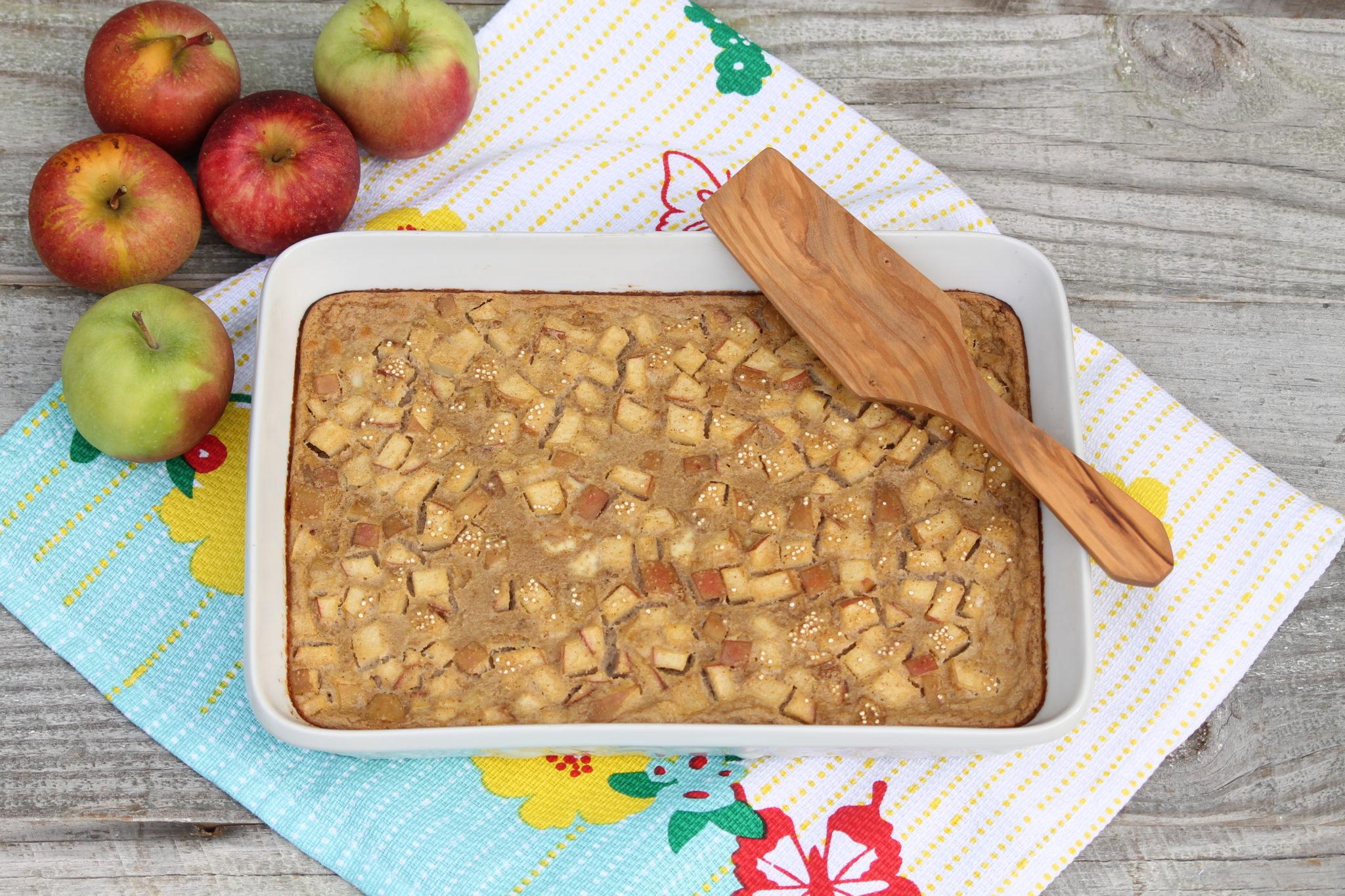 Apple Almond Baked Quinoa
