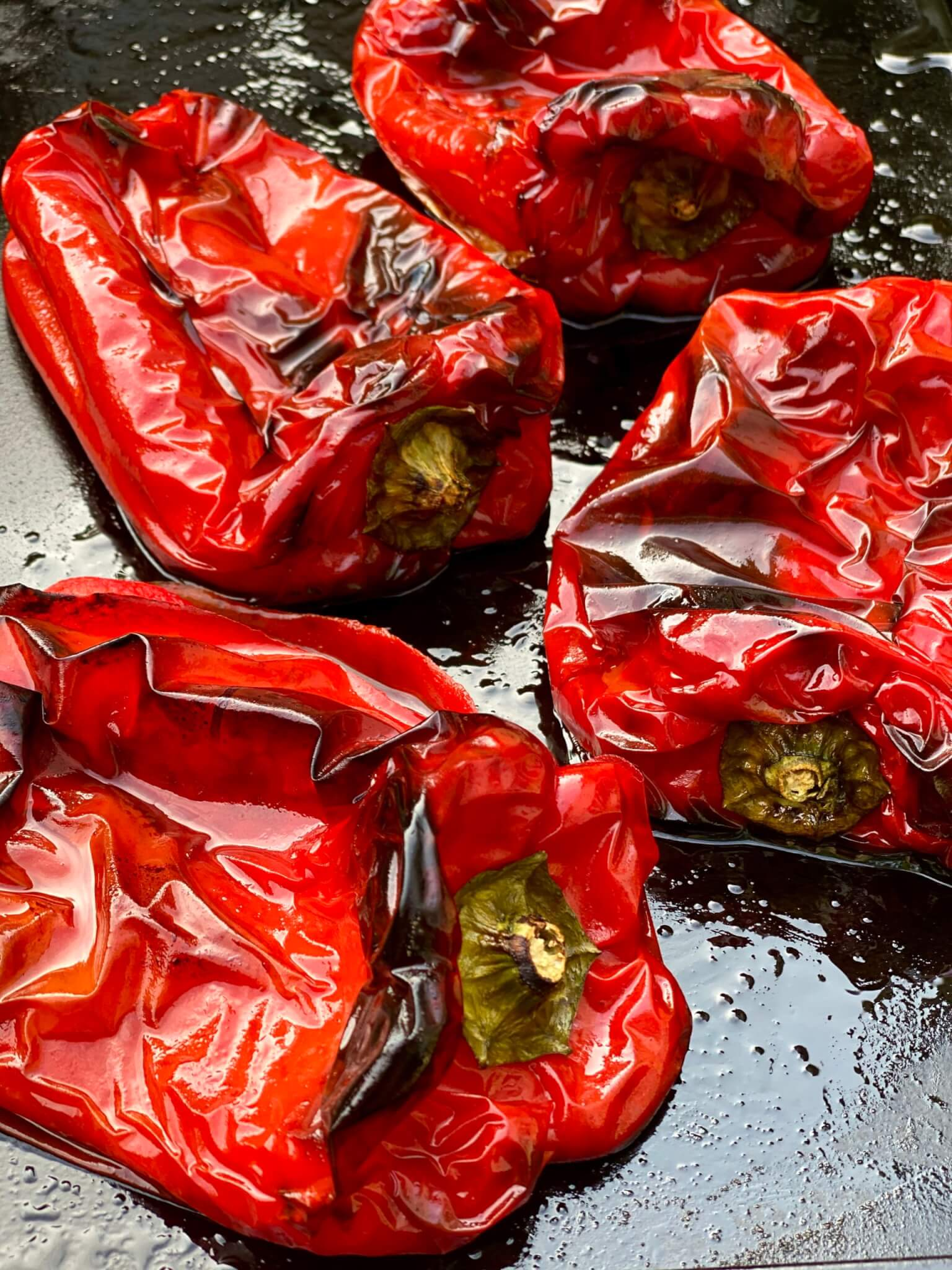 Simple to make yourself! While it is traditional to roast red peppers, any type of pepper can be roasted, including yellow, green, or hot peppers such as jalapeños.