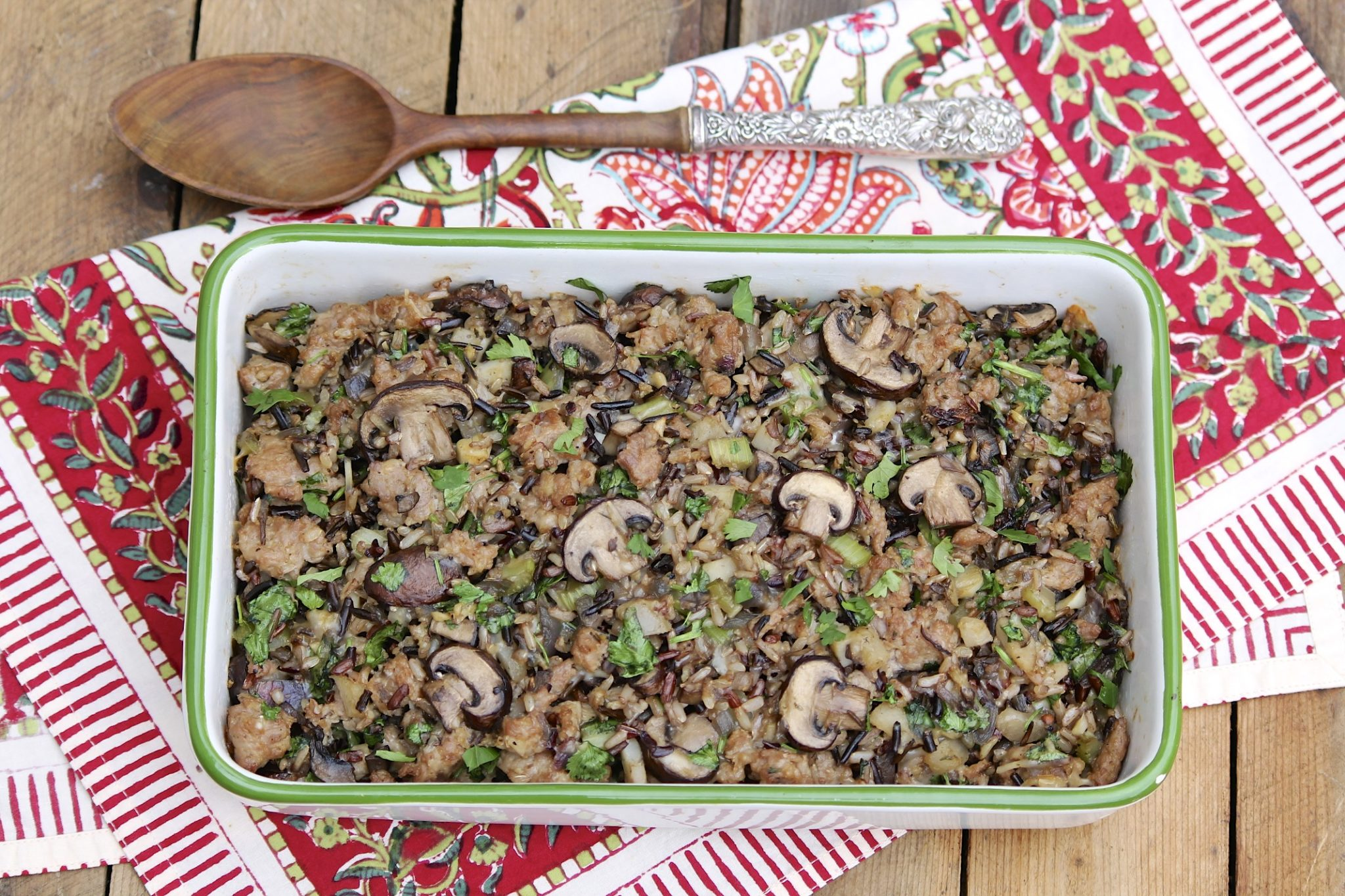 ... Kitchen – Wild Rice and Sausage Casserole (or Stuffing/Dressing