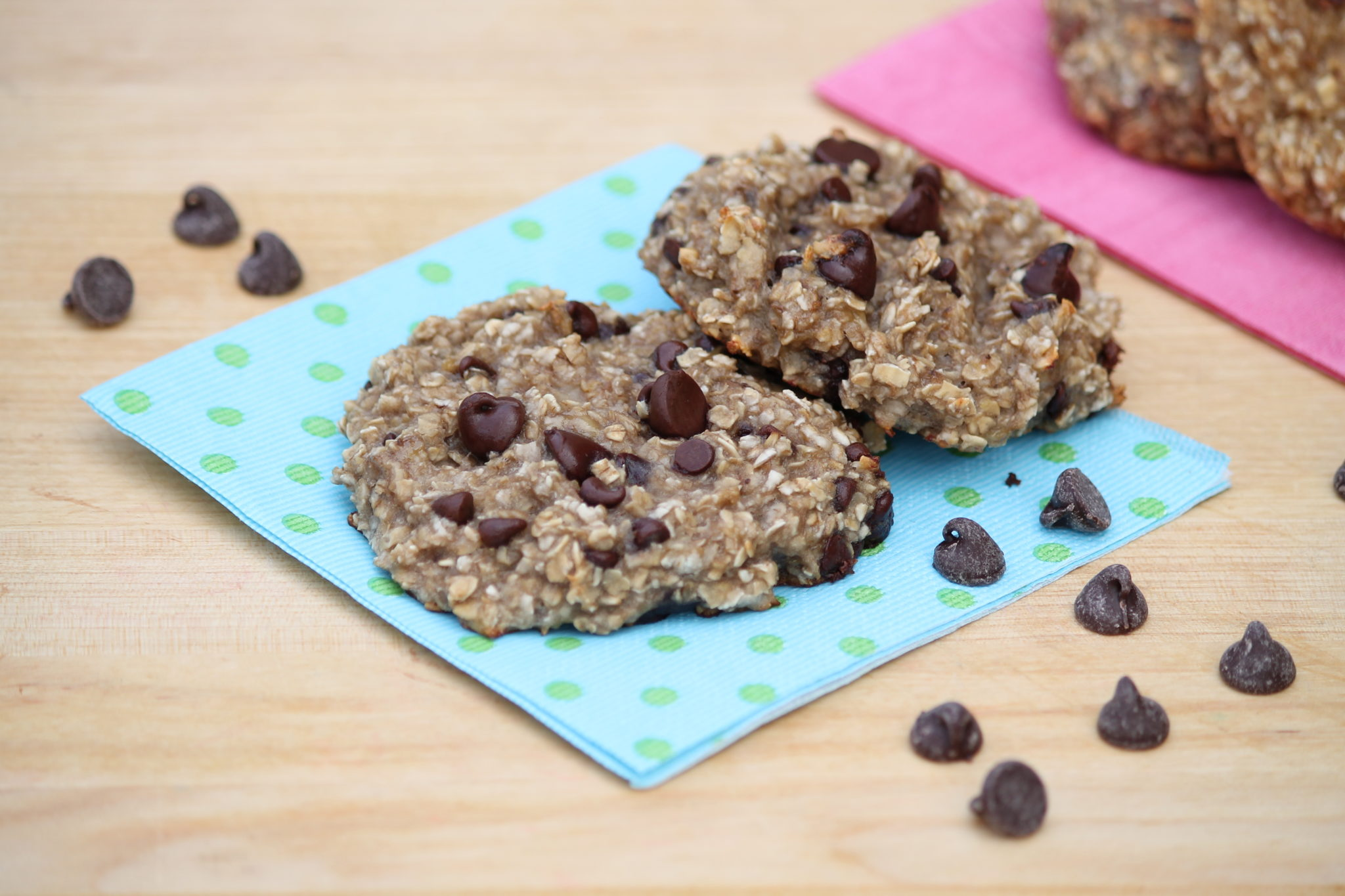 2 Ingredient Breakfast Cookies With Options And A Fun Kitchen