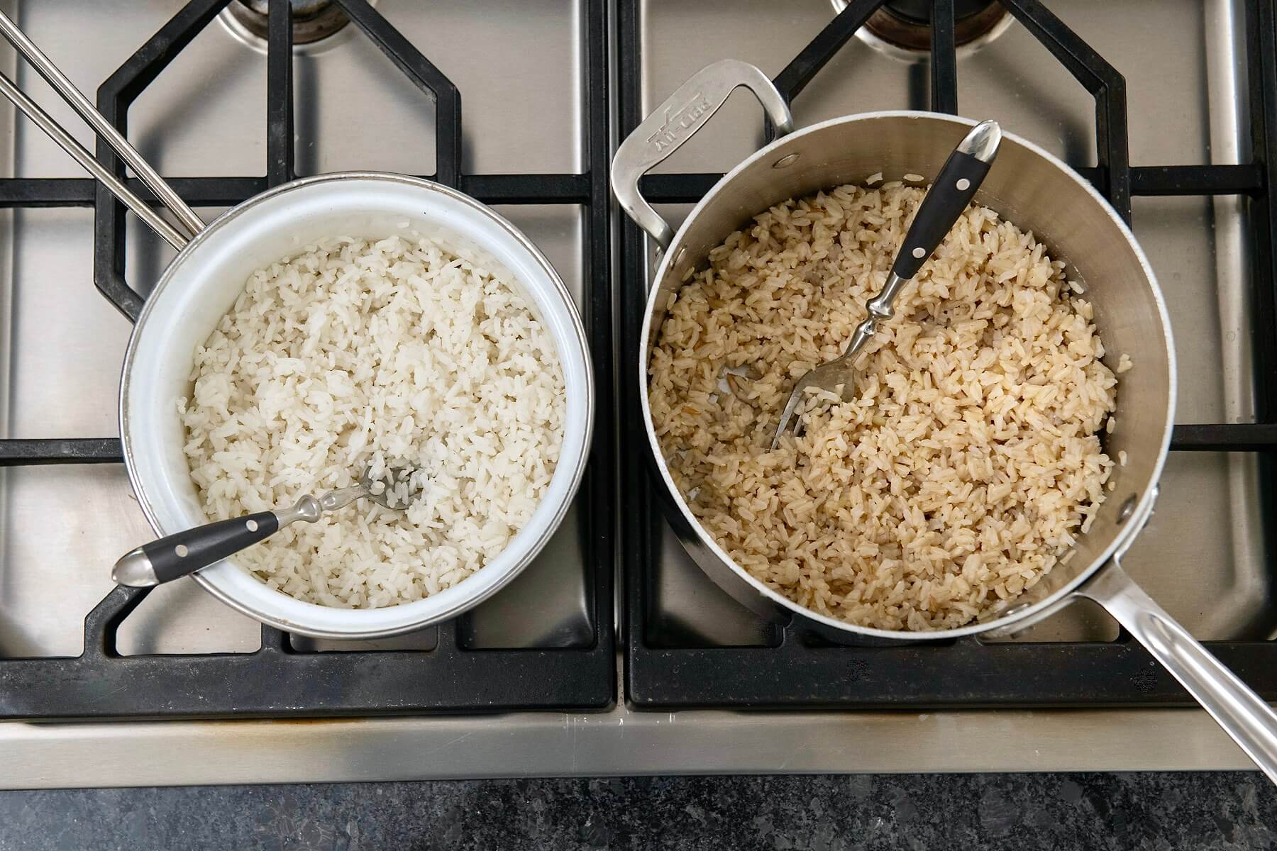 Asimple technique with an untraditional ratio of water-to-rice along with a fewhelpful hintsensures fluffy, perfectly cooked rice every time.
