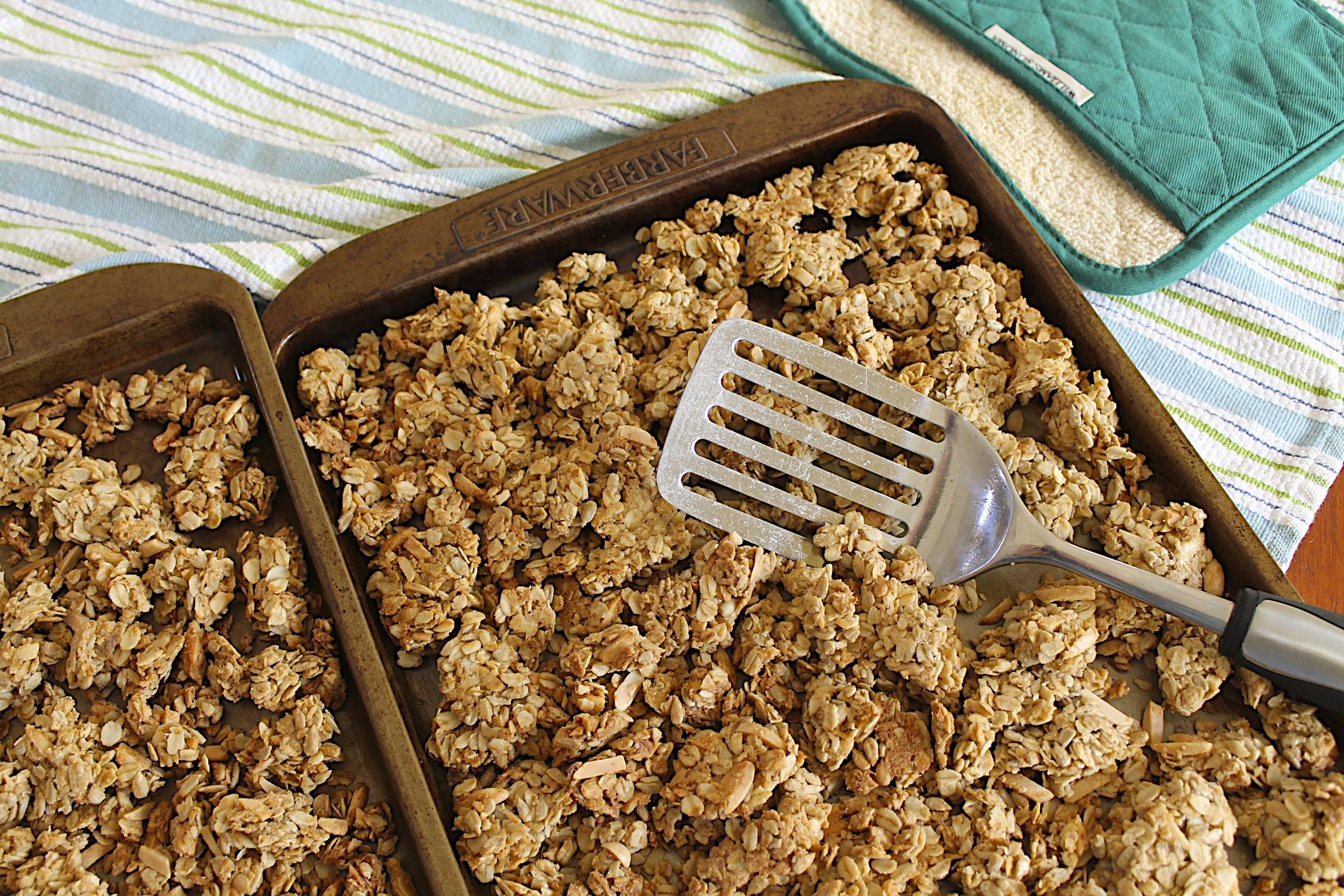 Chunky Homemade Granola