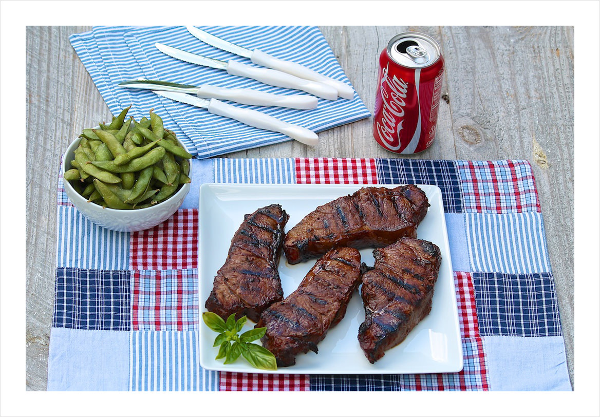 Bourbon-and-Coke-Steaks