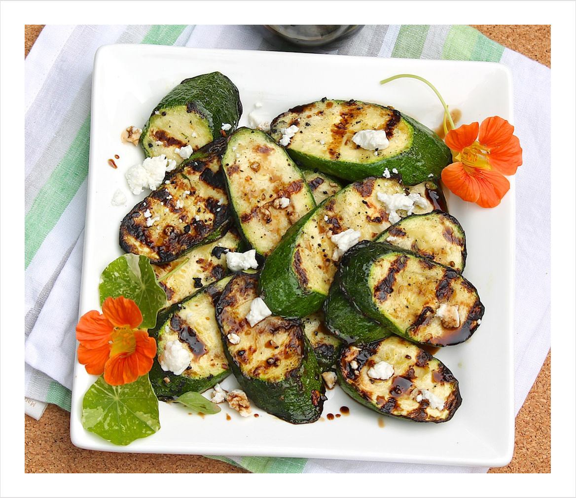 Grilled-Zucchini-with-Goat-Cheese