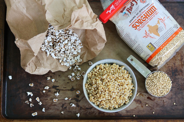 "For a brief ""Sorghum 101"" and a fun way to enjoy this wholesome grain as a snack, click on the photo."