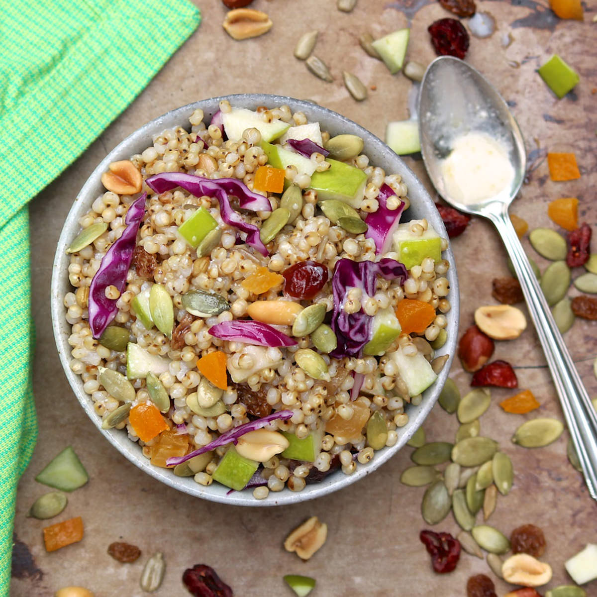 Pick-a-Grain-Trail-Mix-Salad-with-Honey-Yogurt-Dressing