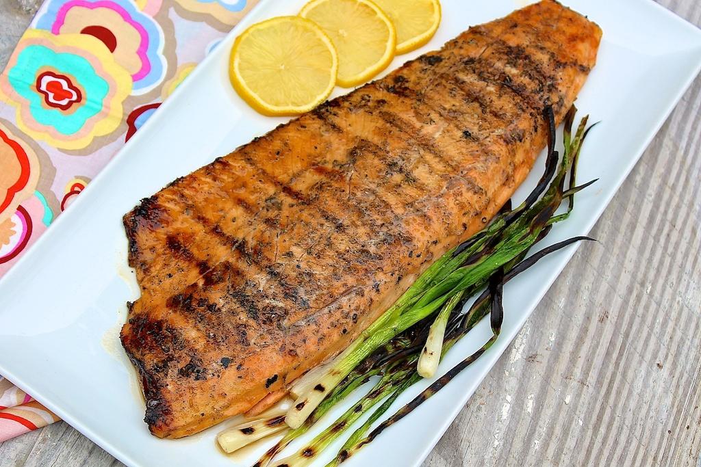 Sesame Soy Salmon -- an easy 4-ingredient marinade