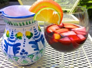 To see the recipe for Classic Spanish Sangria, click on the photo.