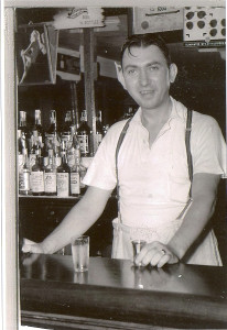 """Last but certainly not least, Claire Storm kindly provided a 1939 photo of """"Cork"""" Lutz at the Lutz Hotel on South Fifth Street, Columbia."""