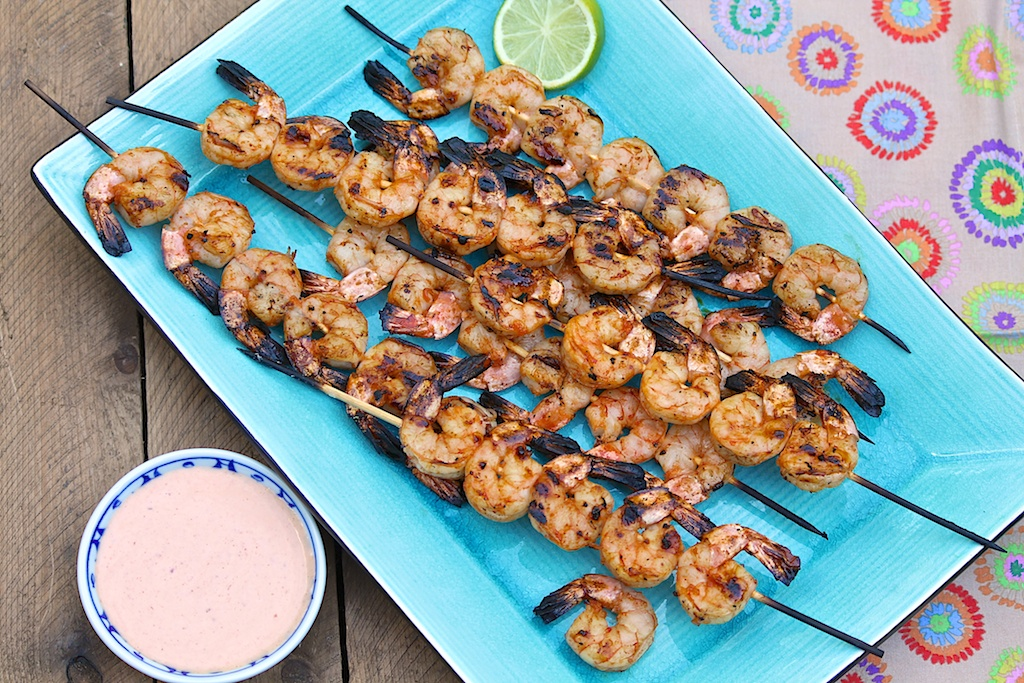 These flavor-packed shrimp will impress all who try. They're equally perfect as an entree or appetizer and can be enjoyed hot off the grill or at room temperature.