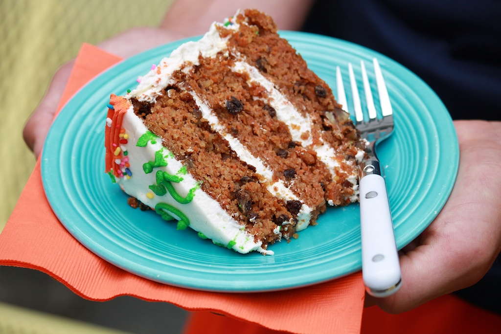 Carrot Cake with Almond Flour - naturally gluten-free but a perennial favorite with everyone!