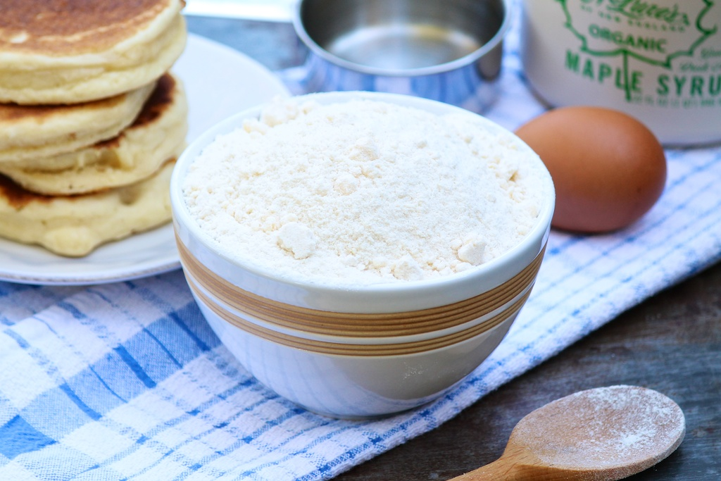 Homemade Bisquick -- a healthier version of a store-bought favorite...great gluten-free option