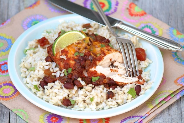 Easy Slow Cooker Cilantro Lime Chicken