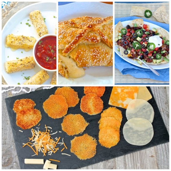 Easy, cheesy appetizers