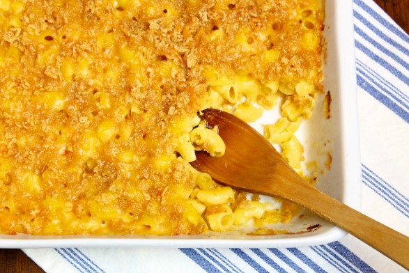 Seriously Delicious Gluten-Free Crispy-Top Mac & Cheese