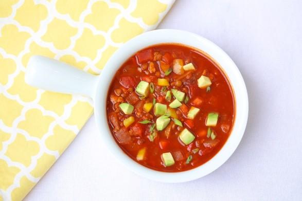Chipotle Turkey Lentil Soup