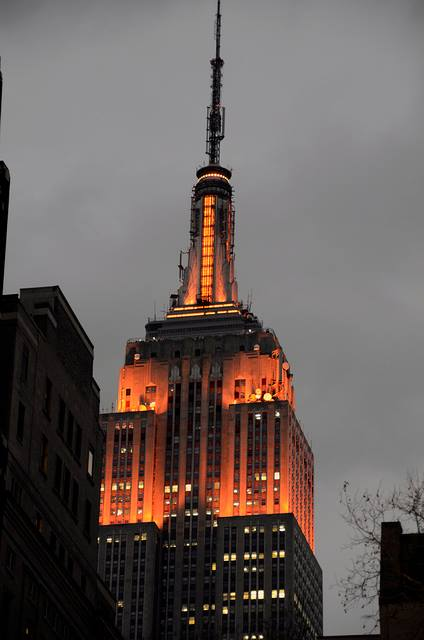 the empires state building