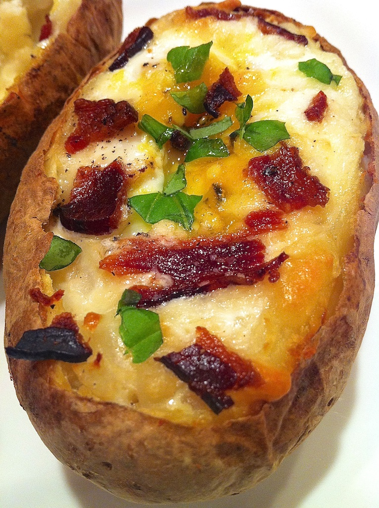 Baked Egg in a Potato -- incredibly satisfying and delightfully easy!