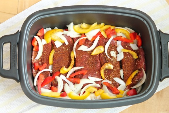 Easy Slow Cooker Mexican Flank Steak