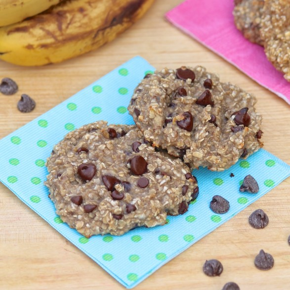 2-Ingredient Breakfast Cookies...with options