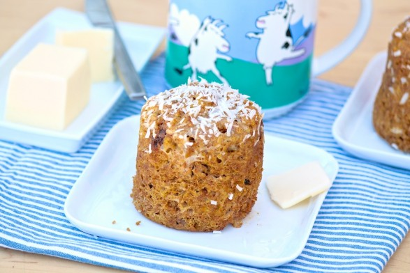 Honey Flax 1-Minute Mug Muffin