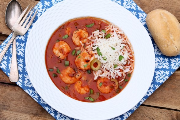 Shrimp Creole -- easy to make and always a crowd-pleaser