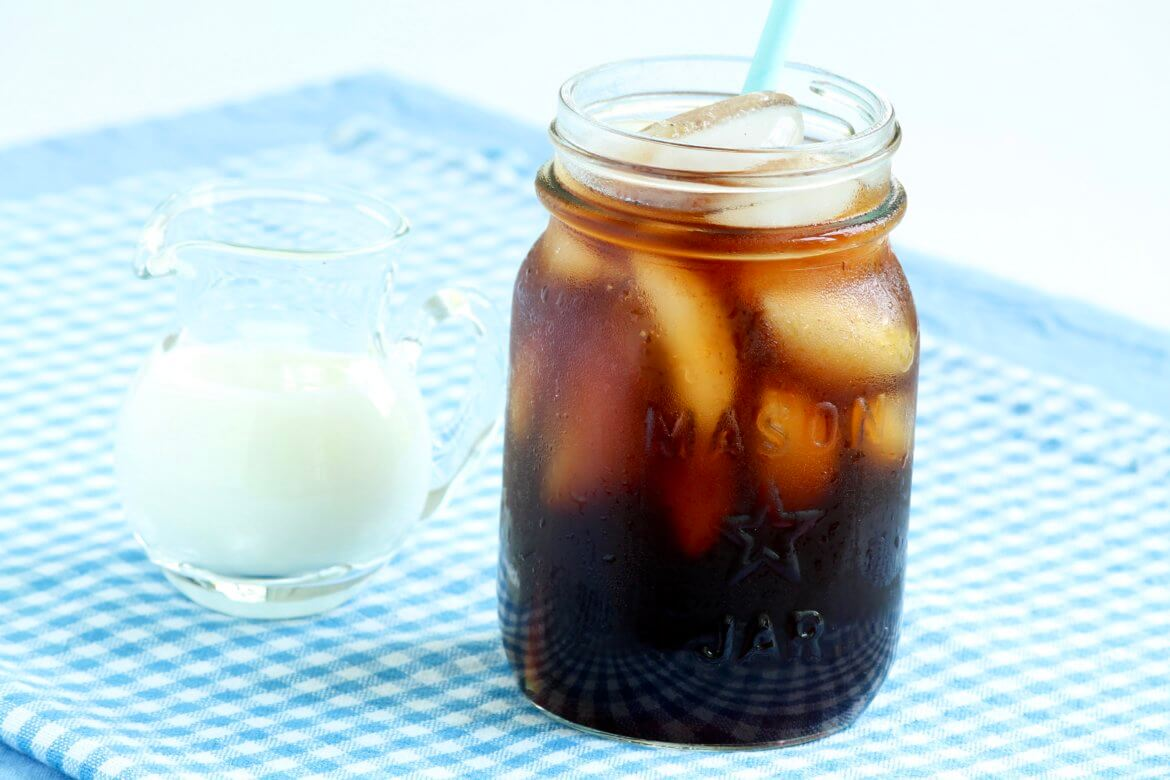 This easy process creates a base that can be diluted with water or milk for your favorite cold coffee drinks. Economical and cafe-worthy!