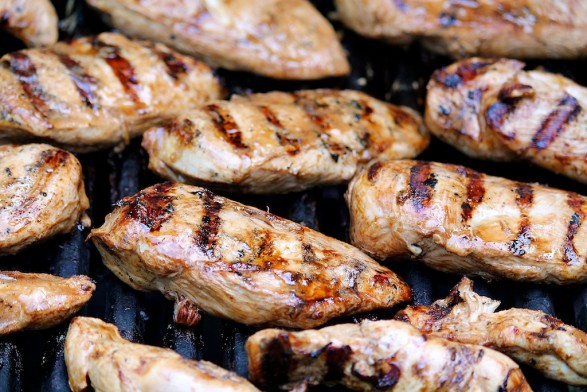 Best ever grilled chicken with 3 easy ingredients